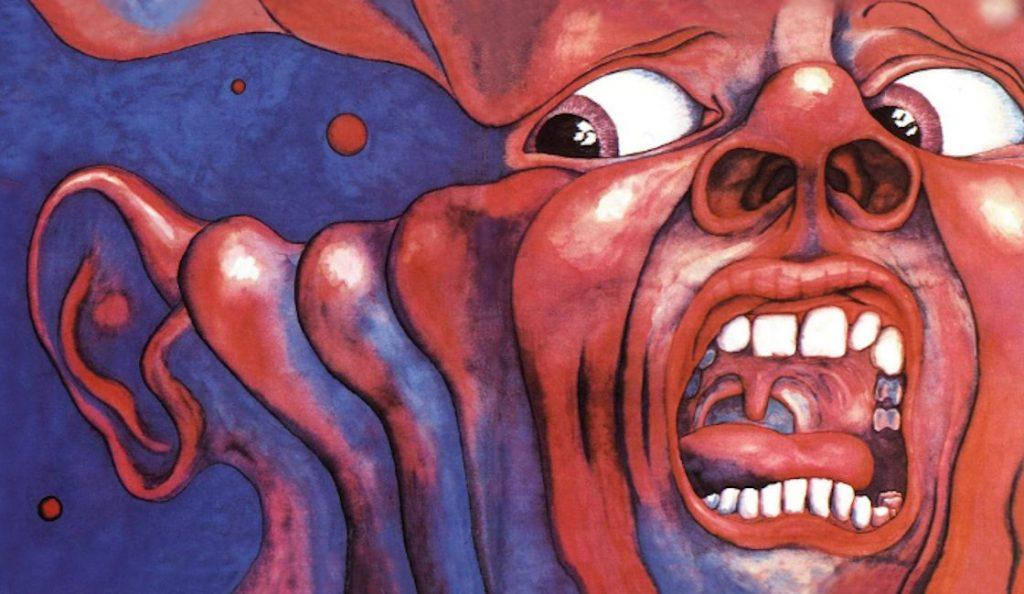 "King Crimson – ""In the Court of the Crimson King""<br>10. Listopada – 1969."