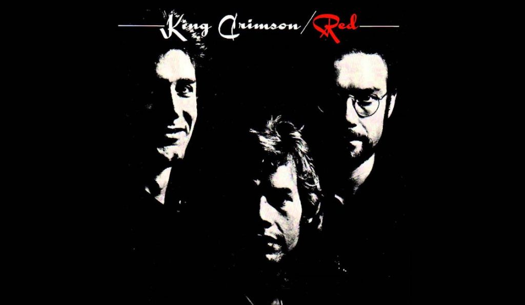 "King Crimson – ""Red""<br>06. Listopada – 1974."