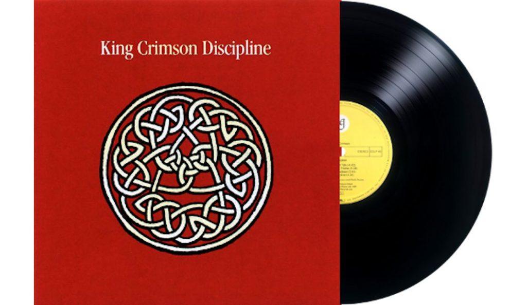 "King Crimson – ""Discipline""<br>Rujan – 1981."