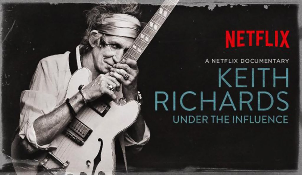 Keith Richards: Under the Influence<br>Rujan – 2015.