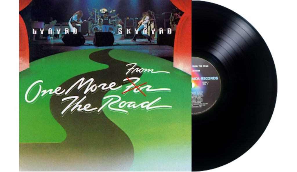 """Lynyrd Skynyrd – """"One More from the Road""""<br>13. Rujna – 1976."""