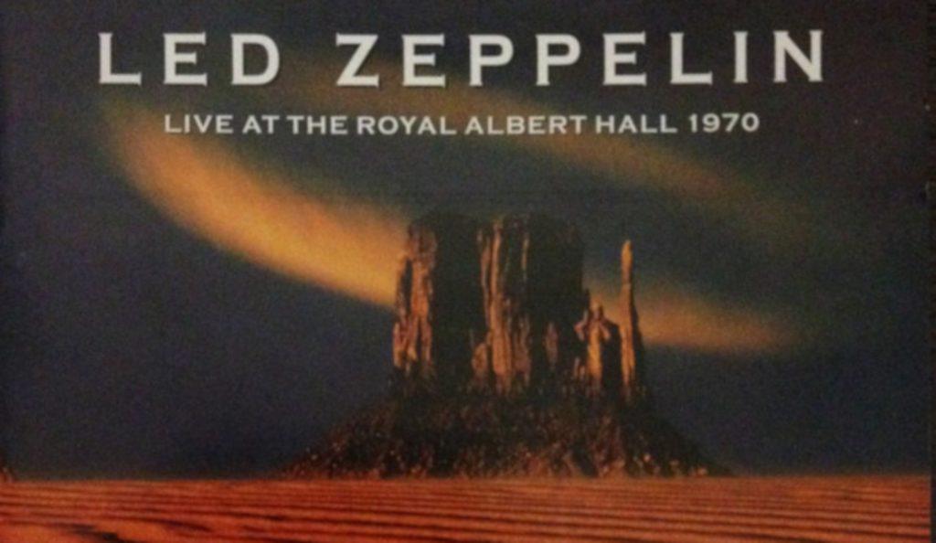"Led Zeppelin – ""Live at the Royal Albert Hall (1970)""<br>Svibanj – 2003."