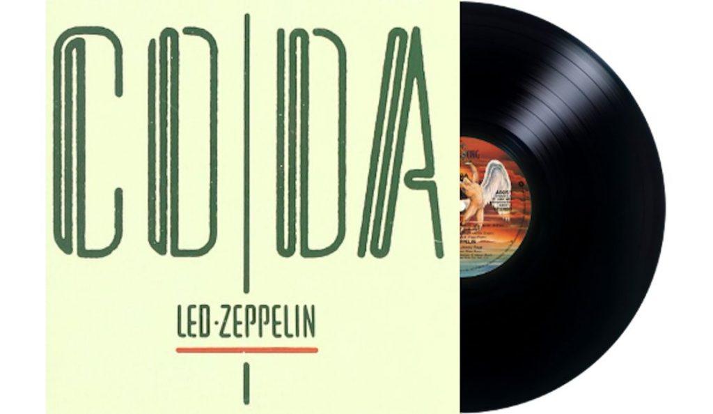 """Led Zeppelin – """"Coda""""<br>Studeni – 1982."""