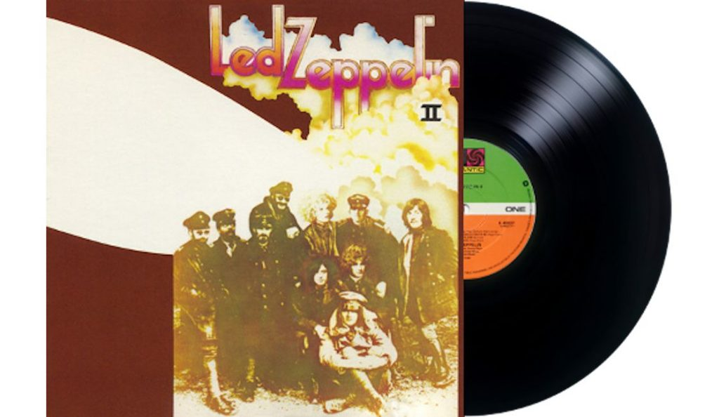 """Led Zeppelin – """"Led Zeppelin II""""<br>22. Listopada – 1969."""