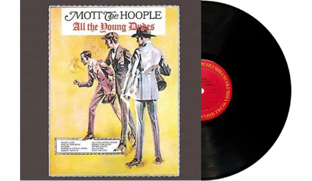 "Mott The Hoople – ""All the Young Dudes""<br>Rujan – 1972."