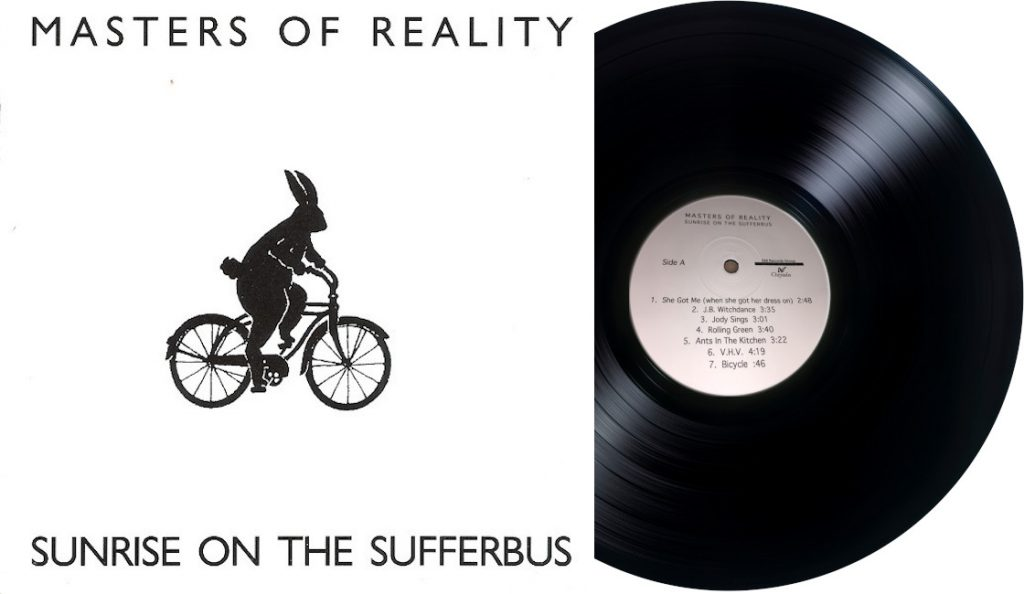 "Masters of Reality – ""Sunrise on the Sufferbus""<br>Lipanj – 1992."