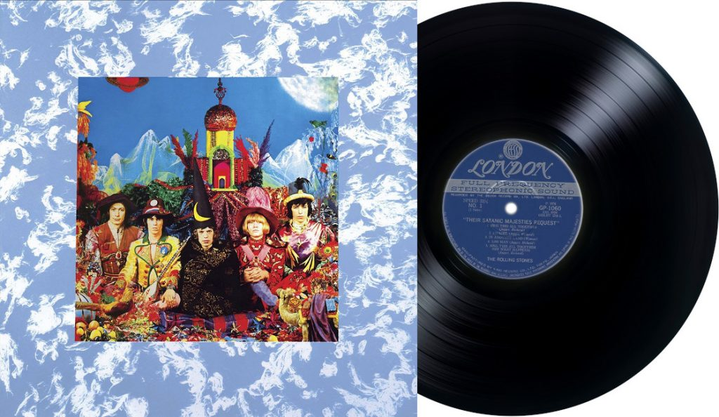 """The Rolling Stones – """"Their Satanic Majesties Request""""<br>Prosinac – 1967."""