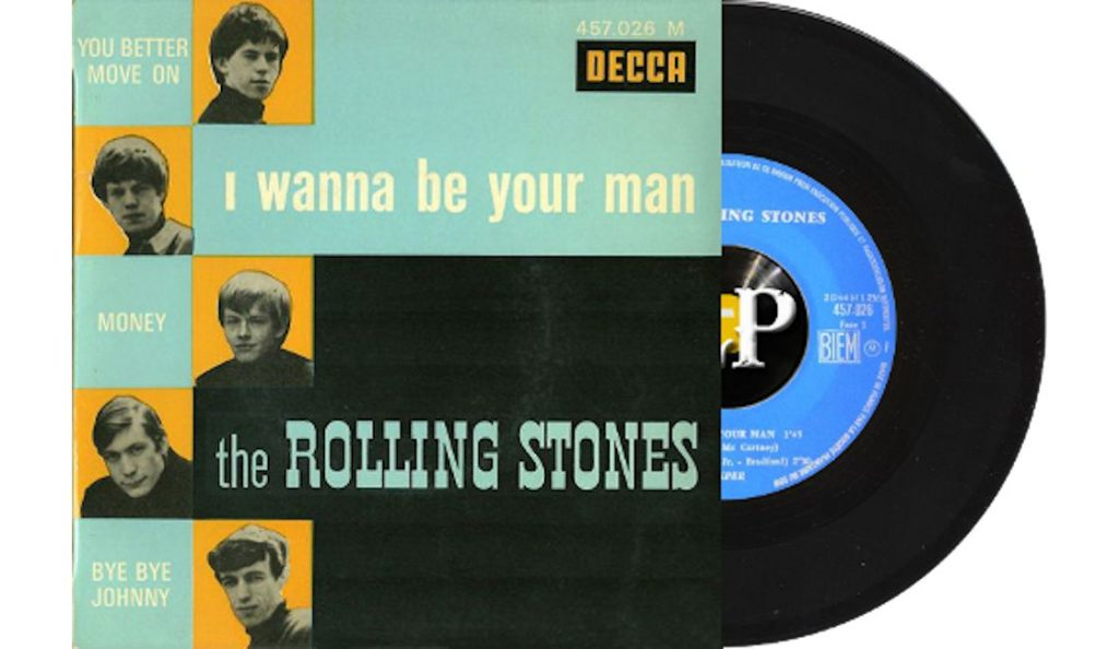 """The Rolling Stones – """"I Wanna Be Your Man""""<br>Studeni – 1963."""