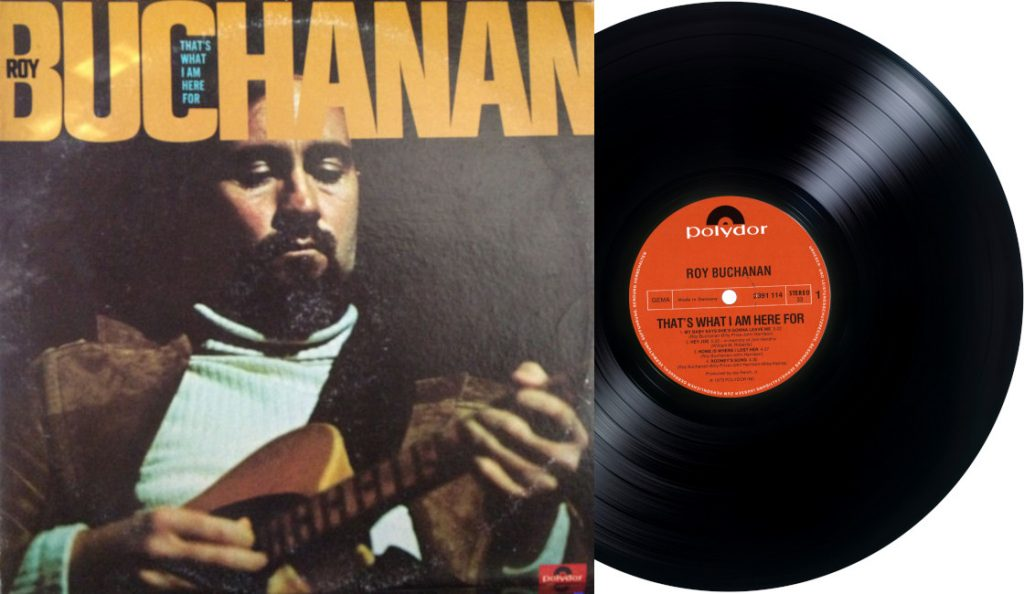 "Roy Buchanan – ""That's What I Am Here For""<br>Studeni – 1973."