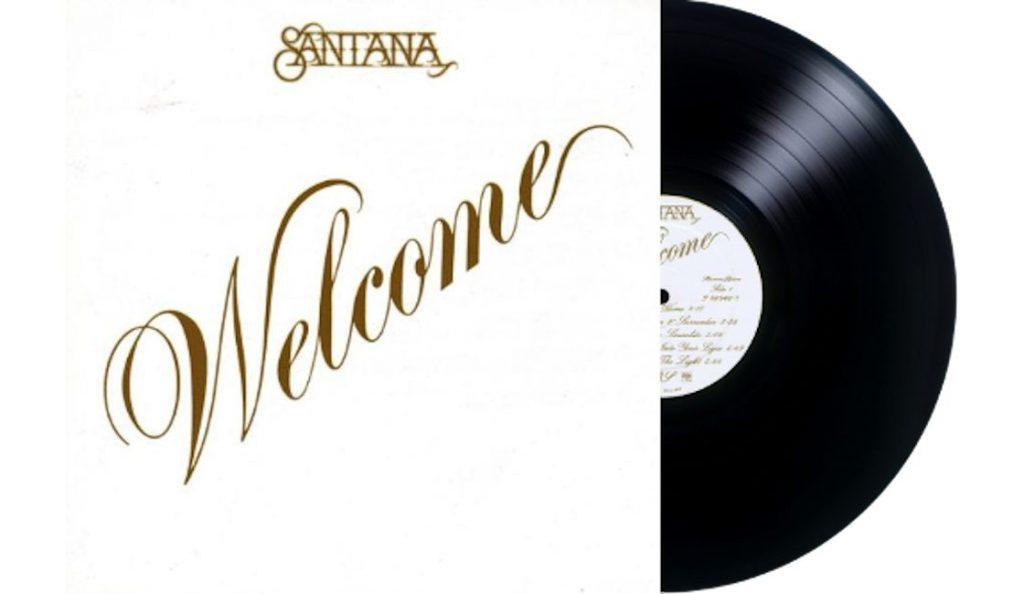 """Santana – """"Welcome""""<br>Studeni – 1973."""