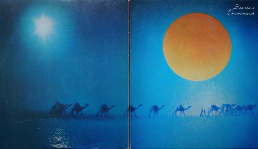 "Santana – ""Caravanserai""<br>11. Listopada – 1972."