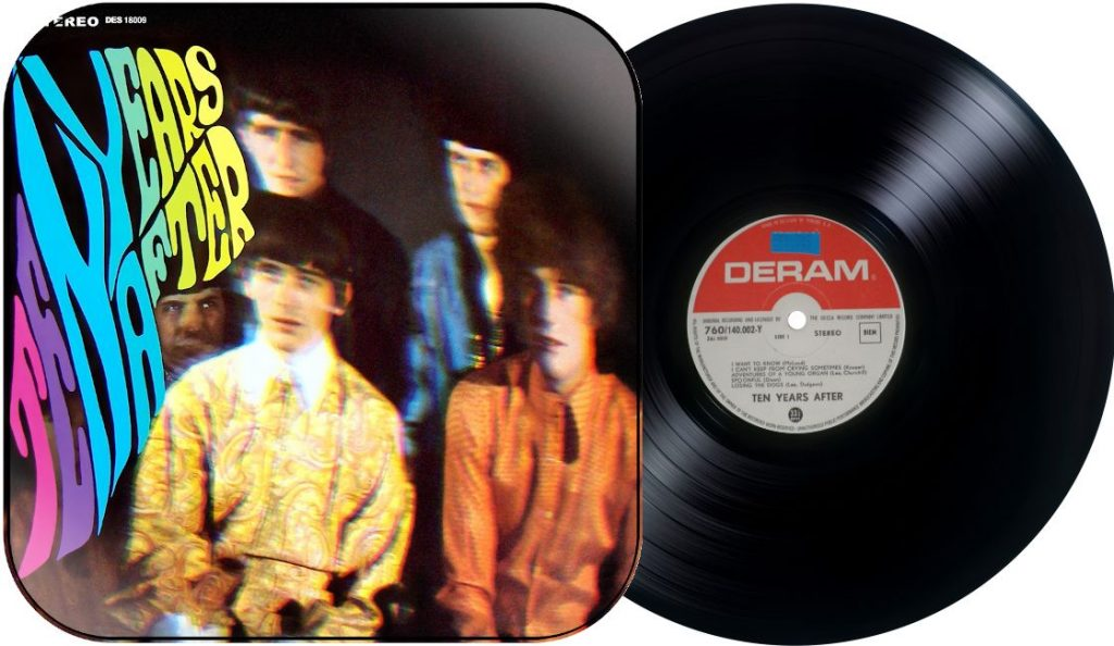 """Ten Years After – """"Ten Years After""""<br>Listopad – 1967."""