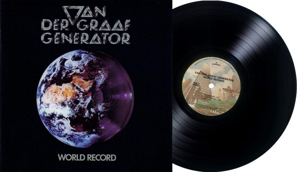 "Van der Graaf Generator – ""World Record""<br>01. Listopada – 1976."