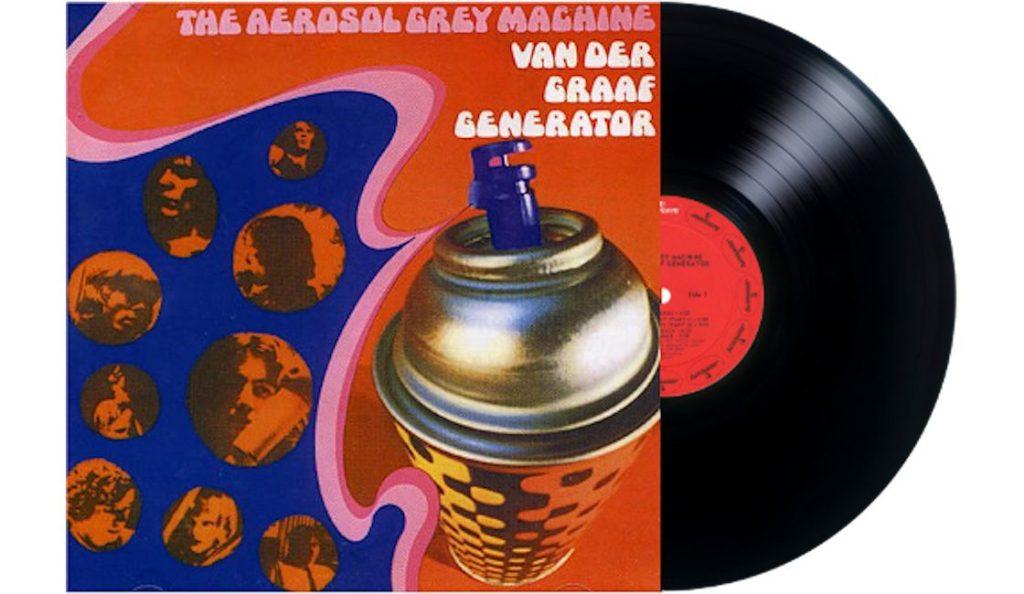 "Van der Graaf Generator – ""The Aerosol Grey Machine""<br>09. Rujna – 1969."