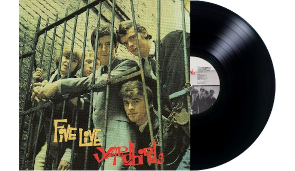 "Yardbirds –  ""Five Live Yardbirds""<br>Prosinac – 1964."
