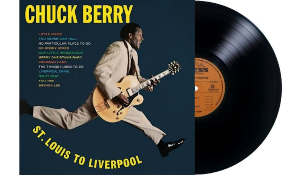 """Chuck Berry – """"St. Louis to Liverpool""""<br>Studeni – 1964."""