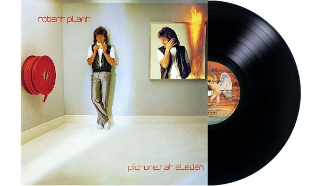 "Robert Plant – ""Pictures at Eleven""<br>Lipanj – 1982."