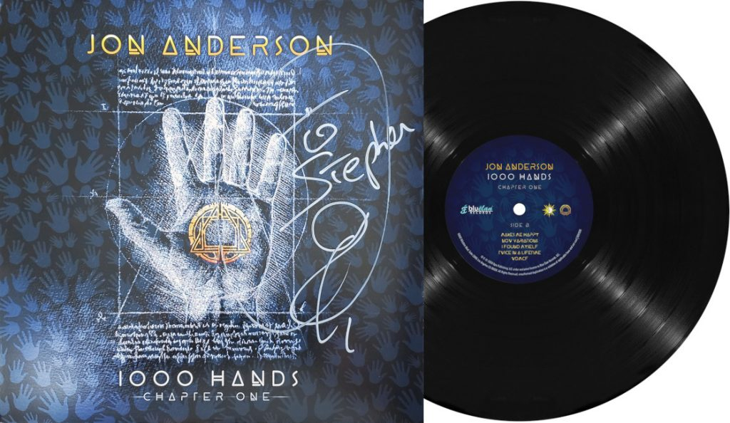 "Jon Anderson – ""1000 Hands – Chapter One""<br>Ožujak – 2019."