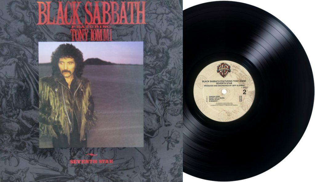 """Black Sabbath – """"Seventh Star""""<br>Siječanj – 1986."""