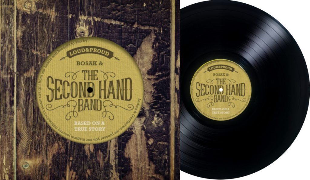 "Bosak & The Second Hand Band –  ""Based on a True Story""<br>Travanj – 2020."