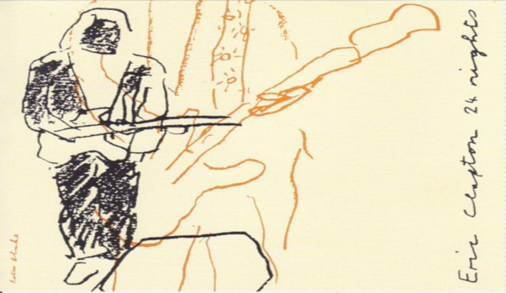 "Eric Clapton – ""24 Nights""<br>Listopad – 1991."