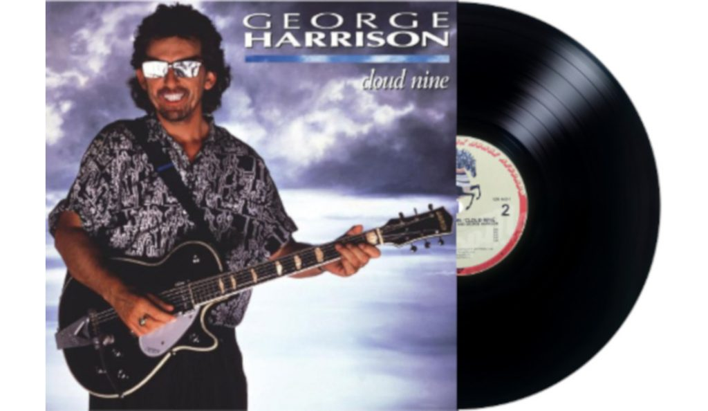 """George Harrison – """"Cloud Nine""""<br>Studeni – 1987."""