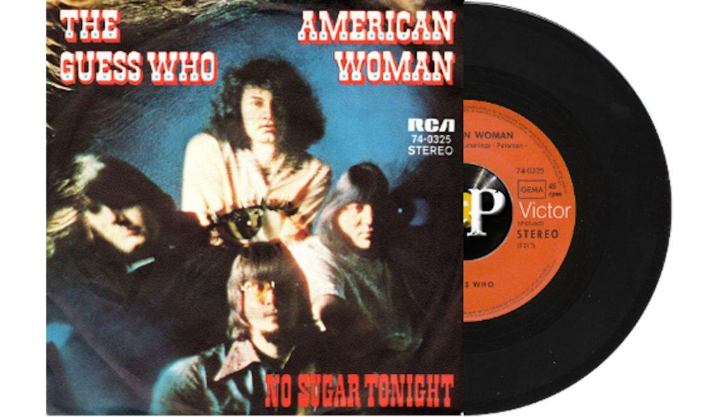 "The Guess Who – ""American Woman""<br>Siječanj – 1970."