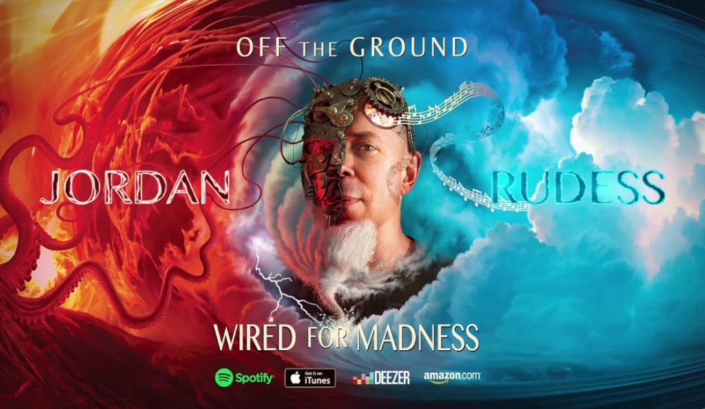 "Jordan Rudess – ""Wired For Madness""<br>Travanj – 2019."