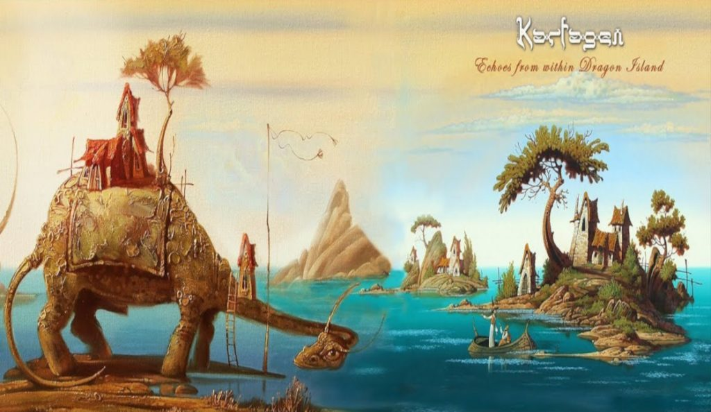 "Karfagen – ""Echoes From Within Dragon Island""<br>Veljača – 2019."