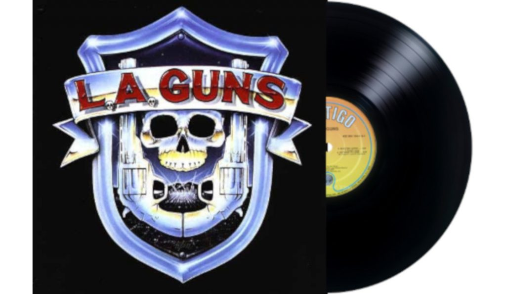 """LA Guns – """"LA Guns""""<br>Siječanj – 1988."""