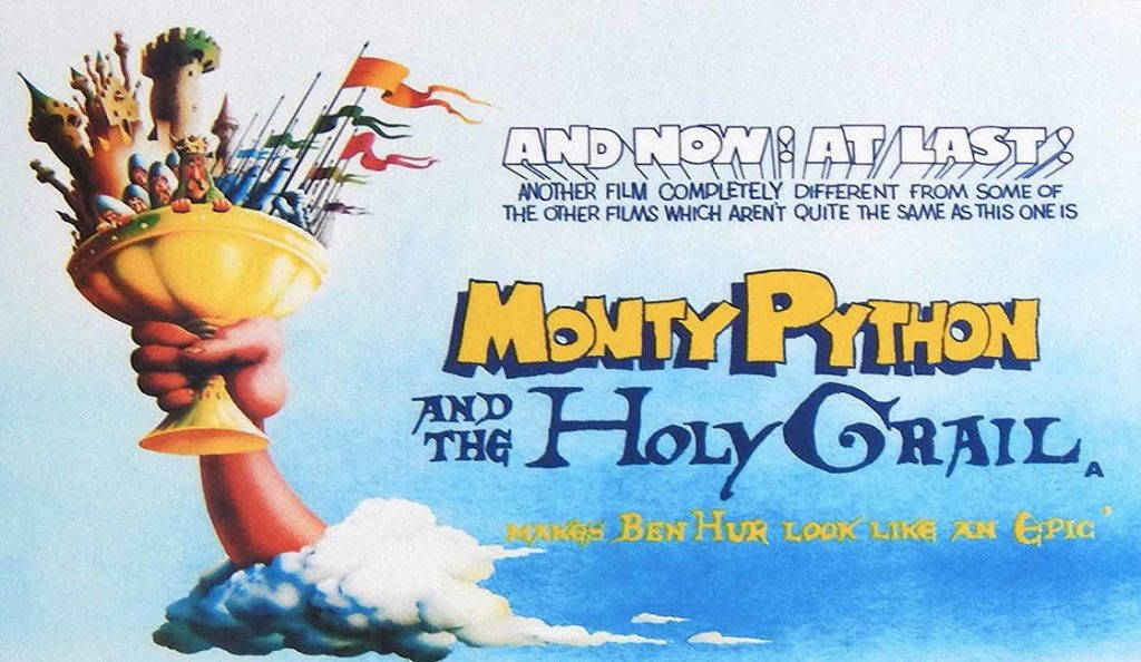"""""""Monty Python and the Holy Grail""""<br>Ožujak – 1975."""