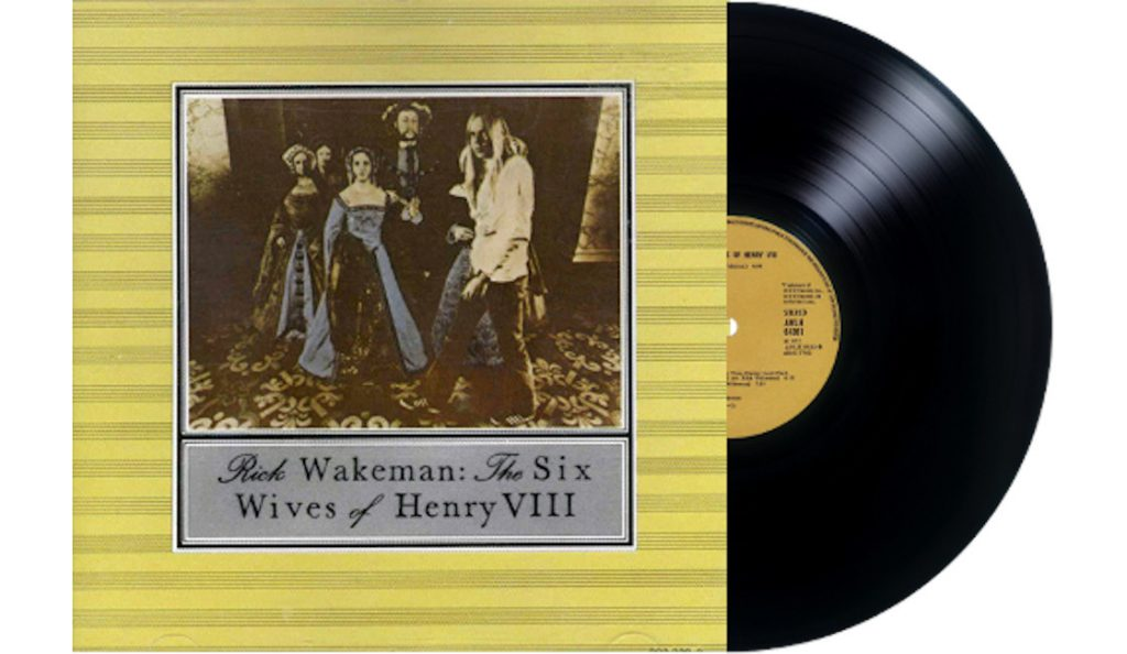 "Rick Wakeman – ""The Six Wives of Henry VIII""<br>Siječanj – 1973."