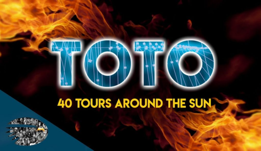 "Toto – ""40 Tours Around The Sun""<br>Listopad – 2018."