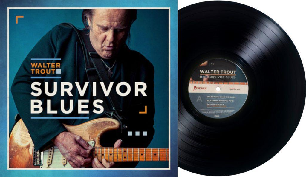 "Walter Trout – ""Survivor Blues""<br>Siječanj – 2019."