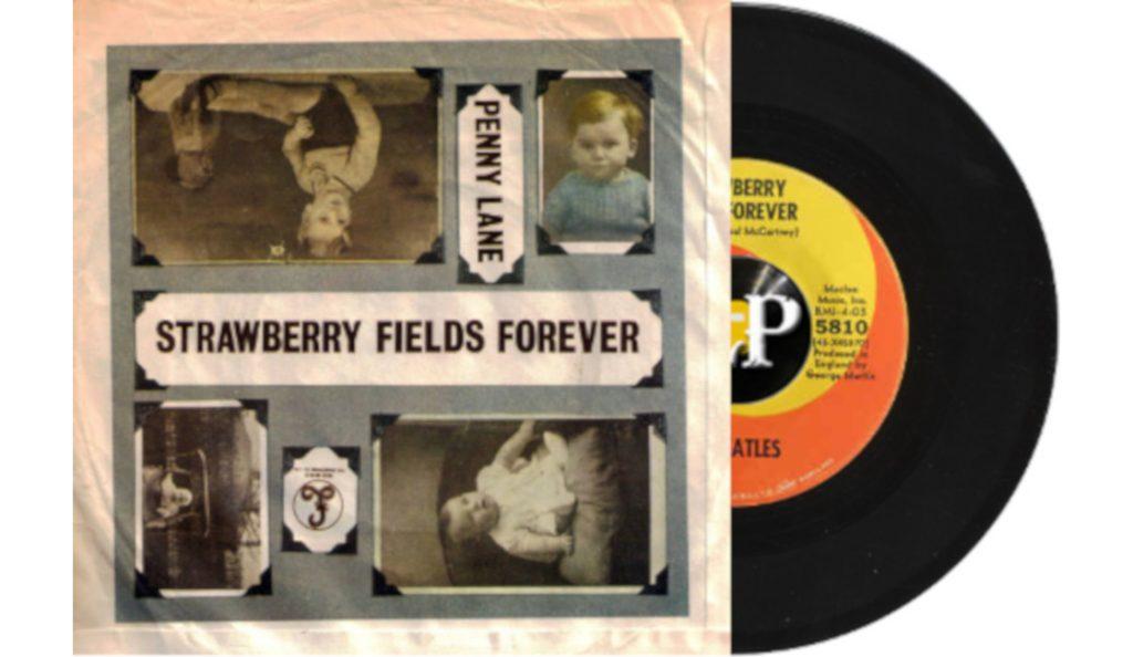 "The Beatles – ""Strawberry Fields Forever"" / ""Penny Lane""<br>Veljača – 1967."