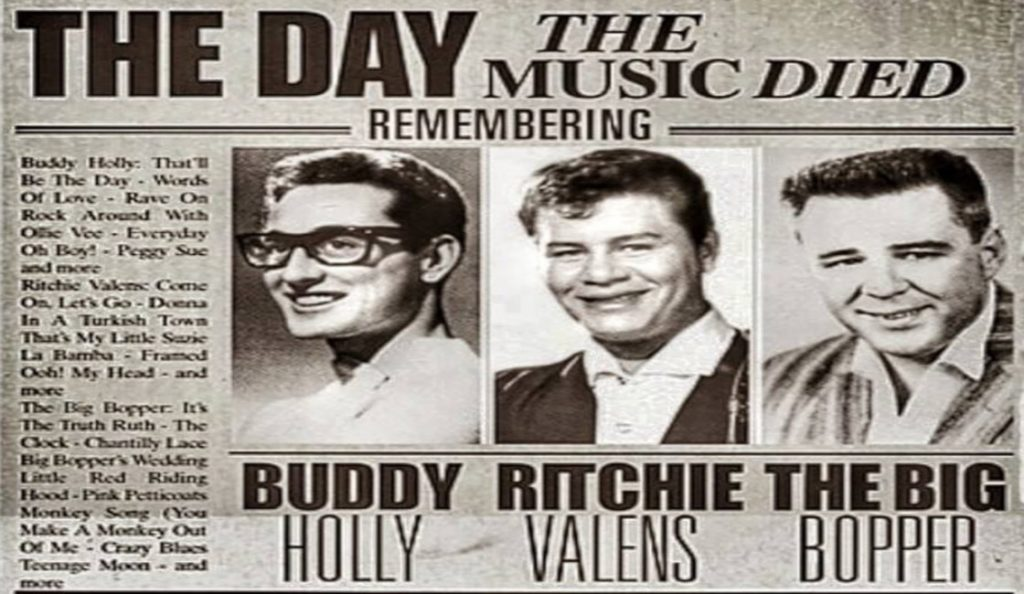 """""""The Day The Music Died""""!<br>Veljača – 1959."""