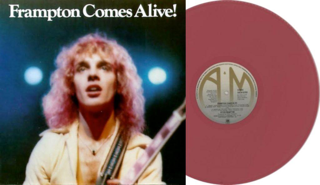 "Peter Frampton – ""Peter Frampton Comes Alive""<br>Siječanj – 1976."