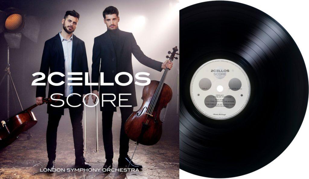 """2CELLOS – """"Score""""<br>Ožujak – 2017."""
