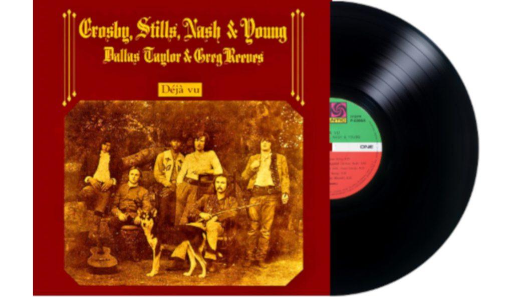 """Crosby, Stills, Nash & Young – """"Déjà Vu""""<br>Ožujak – 1970."""