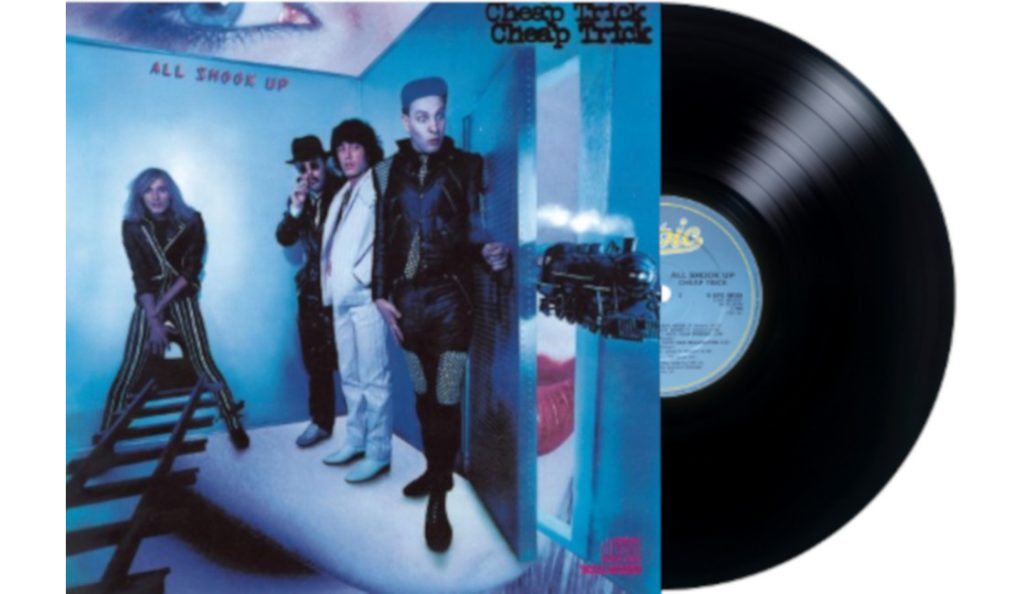 """Cheap Trick – """"All Shook Up""""<br>Listopad – 1980."""