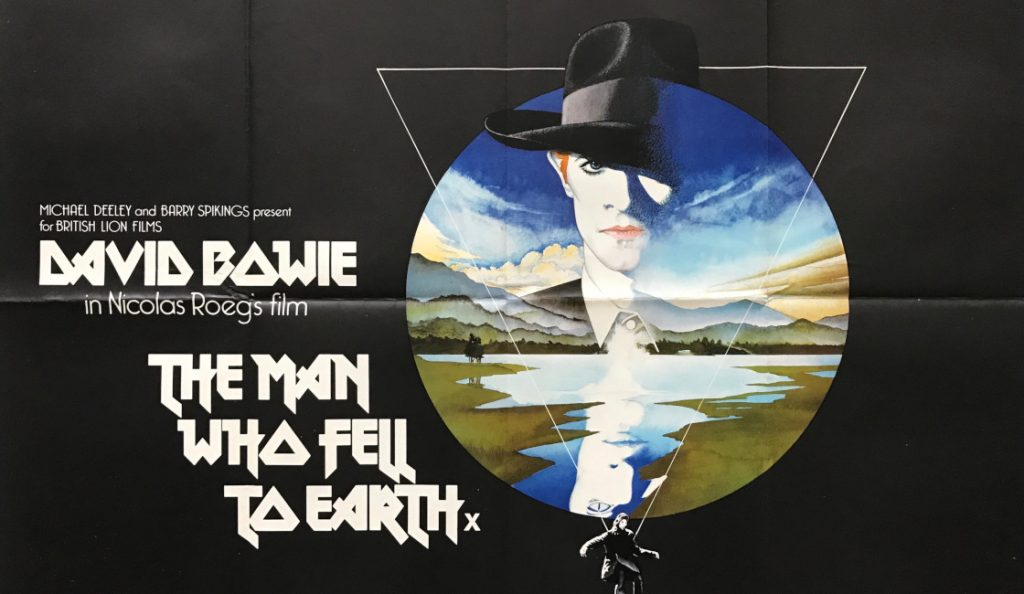 """""""The Man Who Fell to Earth""""<br>Ožujak – 1976."""