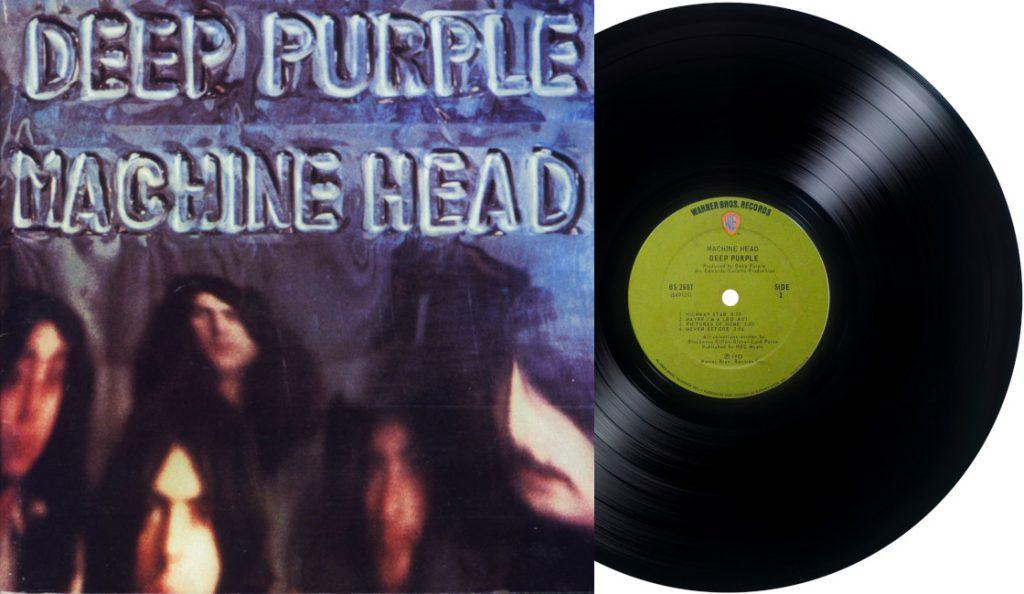 "Deep Purple – ""Machine Head""<br>Ožujak – 1972."