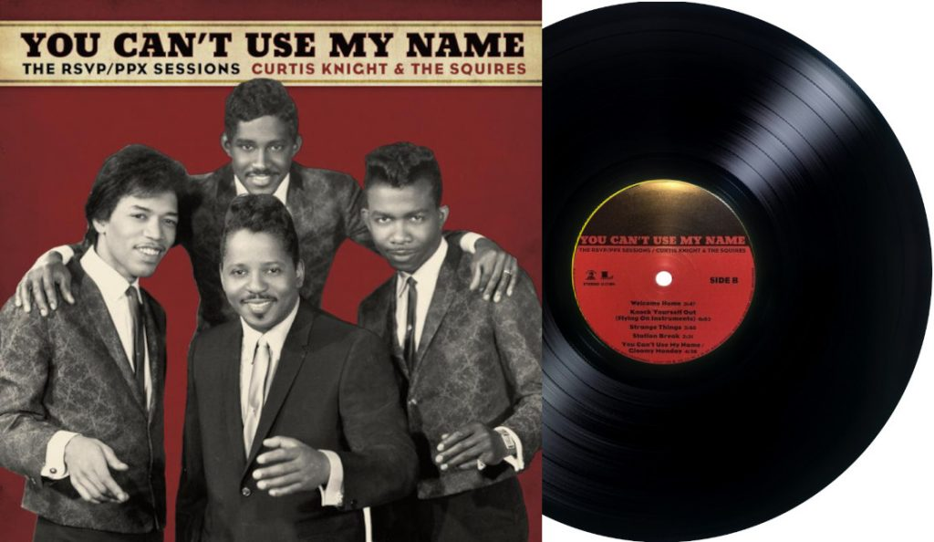 """""""You Can't Use My Name: Curtis Knight & the Squires""""<br>Ožujak – 2015."""