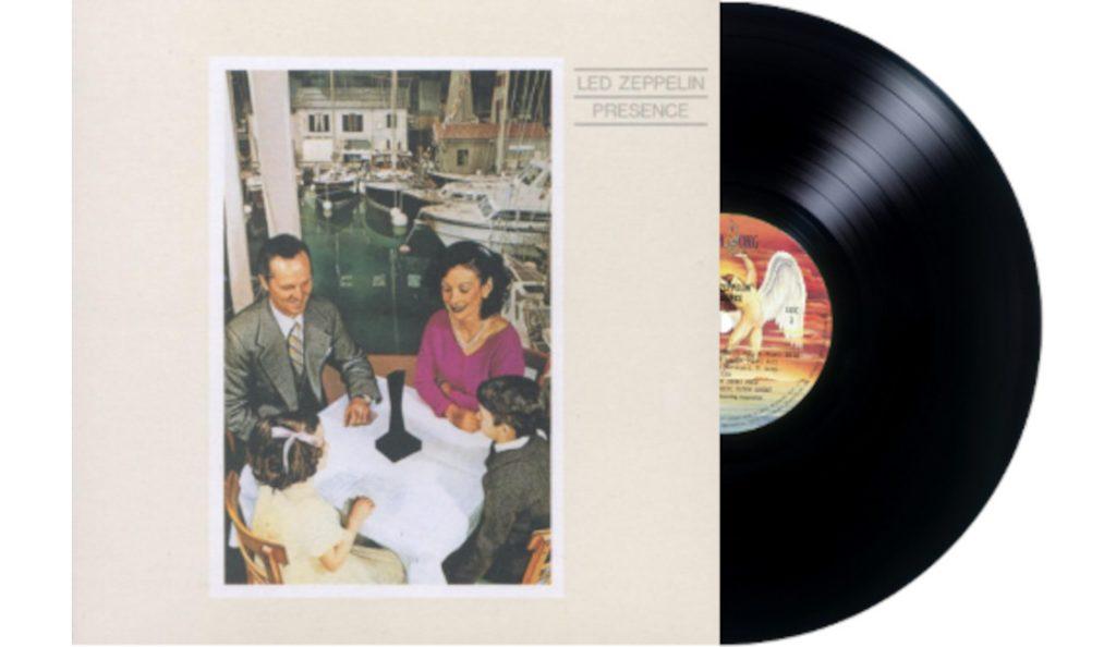 "Led Zeppelin – ""Presence""<br>Ožujak – 1976."
