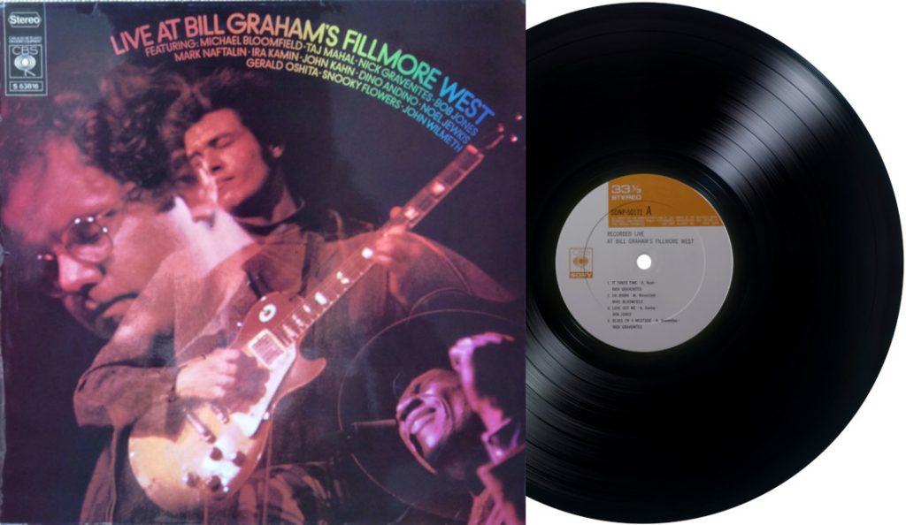 "Mike Bloomfield – ""Live At Bill Graham's Fillmore West""<br>Ožujak – 1969."