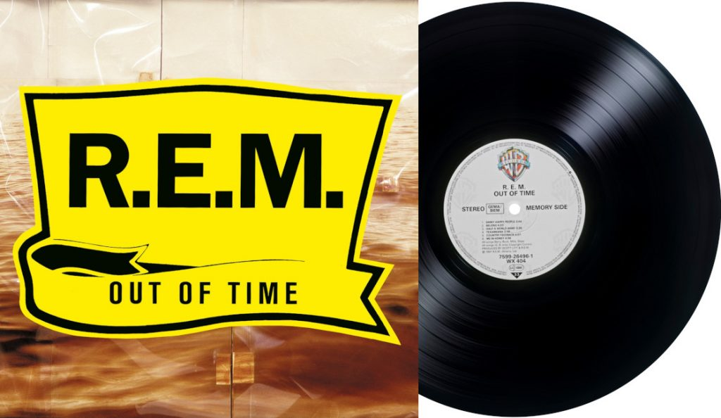 """R.E.M. – """"Out of Time""""<br>Ožujak – 1991."""