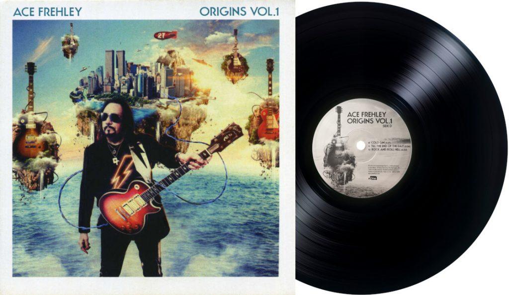 "Ace Frehley – ""Origins Vol. 1""<br>Travanj – 2016."