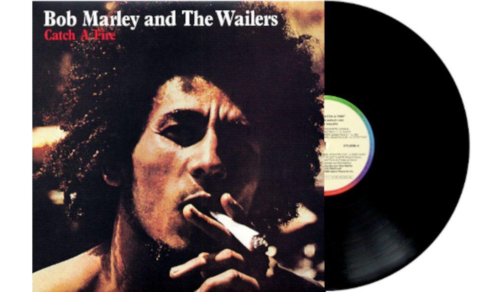 "The Wailers/Bob Marley – ""Catch a Fire""<br>Travanj – 1973."