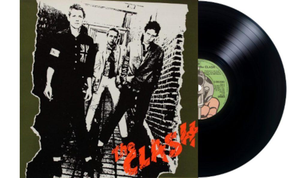"The Clash – ""The Clash""<br>Travanj – 1977."