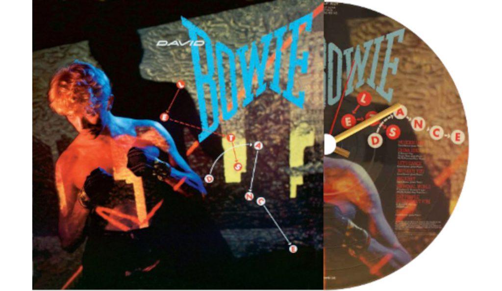 """David Bowie – """"Let's  Dance""""<br>Travanj – 1983."""